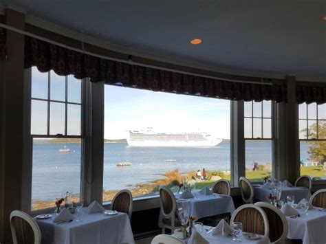 the reading room bar harbor view of frenchman bay from the reading room picture of bar harbor inn bar harbor tripadvisor