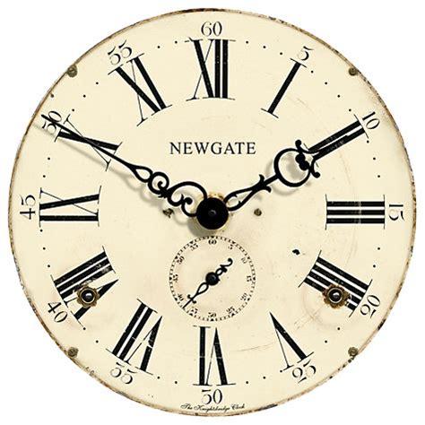 buy hanslin large number metal wall clock online at low buy newgate knightsbridge wall clock john lewis