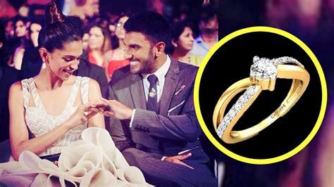 deepika padukone ring ranveer singh gifts deepika padukone an engagement ring