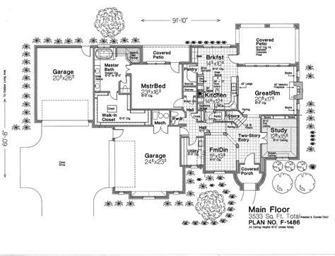 fillmore design floor plans f1486 fillmore chambers design group
