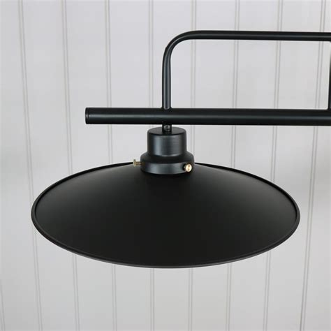 black metal 2 light pendant ceiling light double lighting