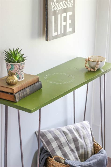 diy table legs buy diy hairpin leg entryway table