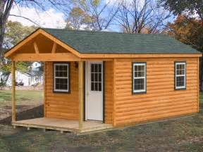 Sheds With Porches For Sale by Amish Pa Custom Handmade12x26 Log Cabin Cottage