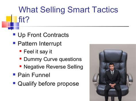pattern interrupt questions selling smart workshop building trusting relationships