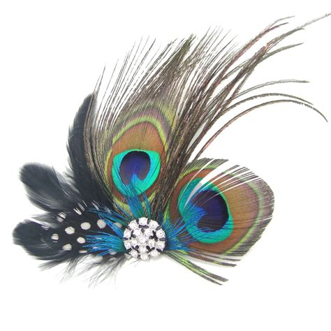 Wedding Hair Accessories Peacock by Peacock Feather Bridal Wedding Hair Clip Headpiece