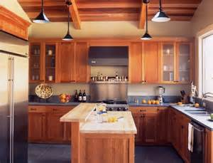 arts and crafts kitchen design wonderful hickory cabinets decorating ideas