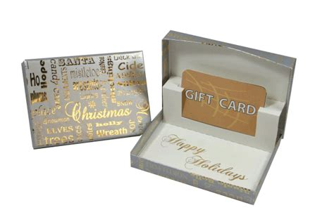 Christmas Gift Boxes For Gift Cards - silver christmas gift card box gift card holders gift card presentation box