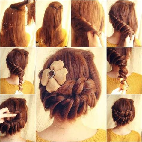 Professional Hairstyles At Home | ideas to make professional hairstyles at home hairzstyle