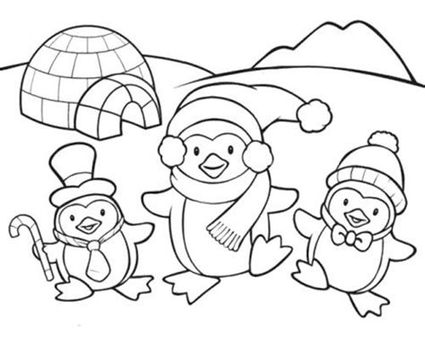 penguins coloring pages coloringsuite com