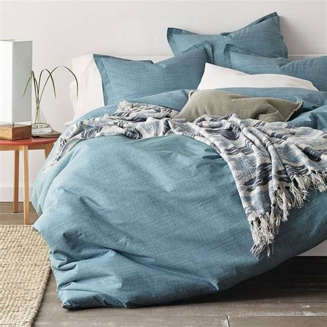 company store bedding cstudio home canvas sheets bedding set blue the