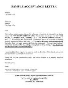 Accepting Resignation Letter Sle by 1000 Images About Acceptance Letters On