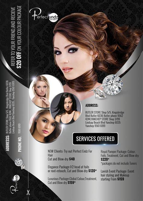 modern salon posters elegant modern flyer design for neil phillips by