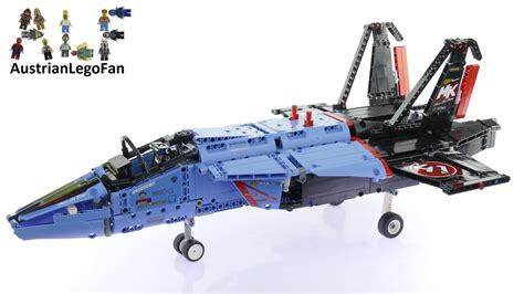 Lego Technic 42066 Air Race Jet lego technic 42066 air race jet lego speed build review