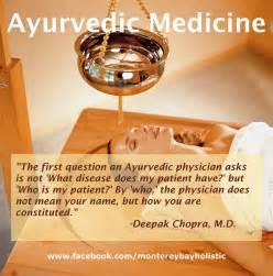 Ayurvedic medicine monterey bay holistic alliance
