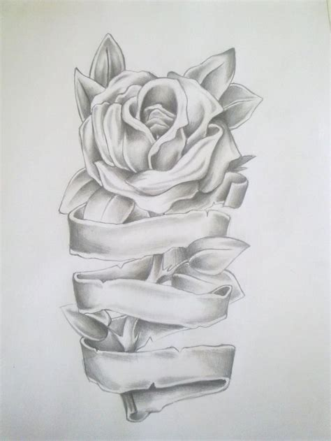 rose tattoo with scroll best 25 scroll tattoos ideas on