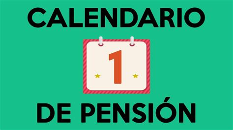calendario de pago de pension no contributiva 2016 calendario de pago de pensiones calendario de pago de