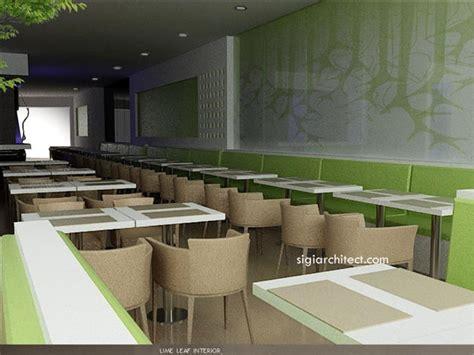 design lantai cafe desain resto cafe minimalis limeleaf