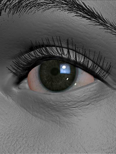 zbrush eyelashes tutorial fibermesh hair for rendering page 3