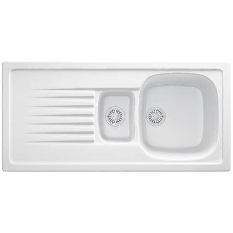franke ceramic kitchen sinks franke elba elk 651 ceramic white 1 5 bowl inset sink
