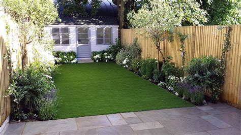 Simple Small Garden Ideas Low Maintenance Gardens Ideas On A Budget Back Patio Landscaping The Garden Modern Garden