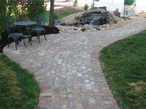 Different Patio Ideas by Brick Patio Design