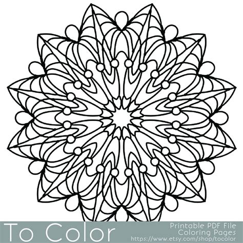 coloring pages easy for adults simple printable coloring pages for adults gel pens