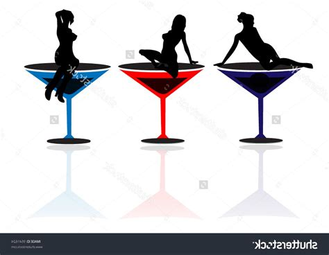 martini svg 100 martini glasses vector clipart creamy martini