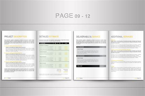 indesign template proposal indesign proposal template brochure templates on