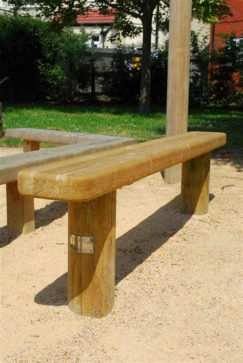 bench standard standard bench timber playground furniture seating