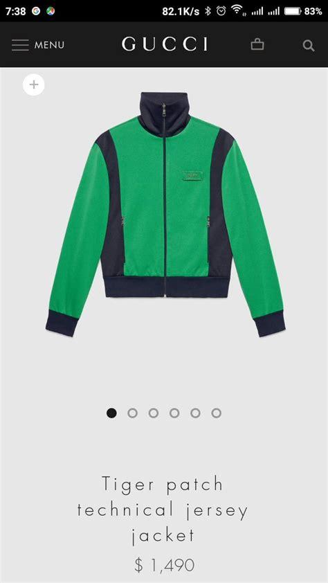 Harga Jaket Gucci gucci keluarkan jaket terbaru yang mirip jaket gojek