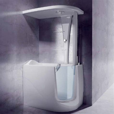 Mini Bathtub And Shower Combos For Small Bathrooms Bathroom With Shower And Tub