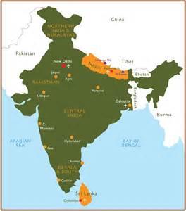 India Nepal Map by Nepal India Map Adriftskateshop