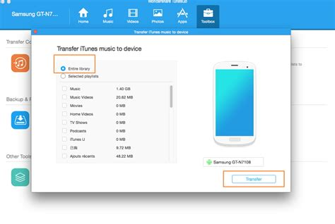 transfer itunes to android a guide to transfer from itunes to android