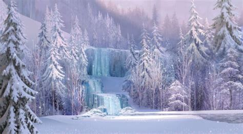 frozen waterfall wallpaper 8x8ft custom backgrounds frozen waterfall falls icefalls