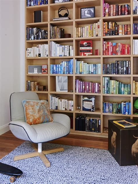 built in bookshelves melbourne bill and christine mccorkell and family the design files