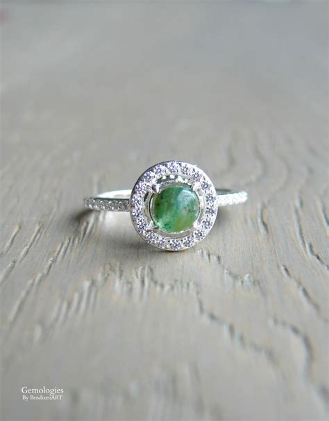 emerald ring tiger stripe emerald halo ring mothers