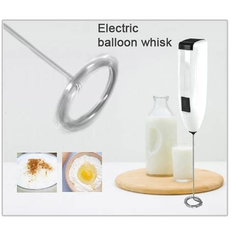 Mokhamano Electric Coffee Egg Beater Whisk Milk Frother With Handle electric milk shake frother auto mixer whisk coffee cappuccino egg beater foamer 8809064434705