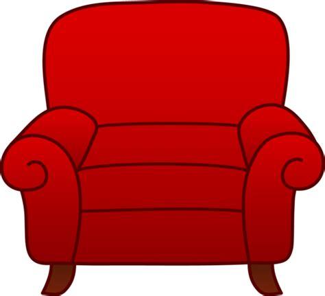 armchair scientist red armchair clipart free clip art