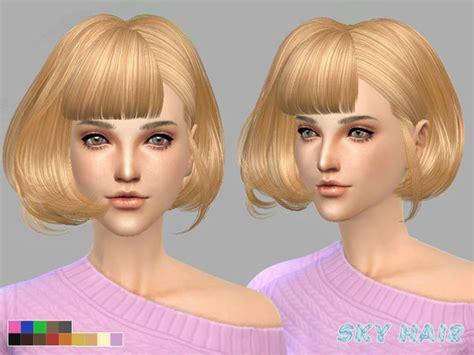sims 4 short hair skysims hair 249