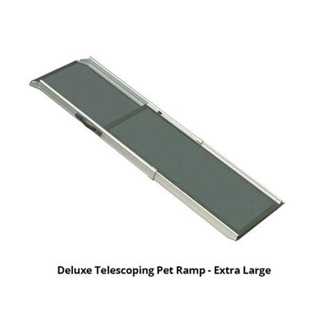 solvit deluxe telescoping pet ramp extra large
