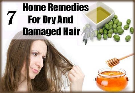 7 home remedies for and damaged hair