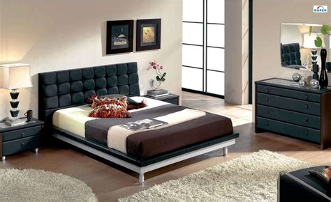 unique leather design bedroom furniture  padded headboard riverside california esf toledo
