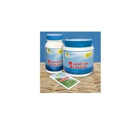 magnesio supremo prezzo magnesio supremo 300 gr integratore alimentare in polvere