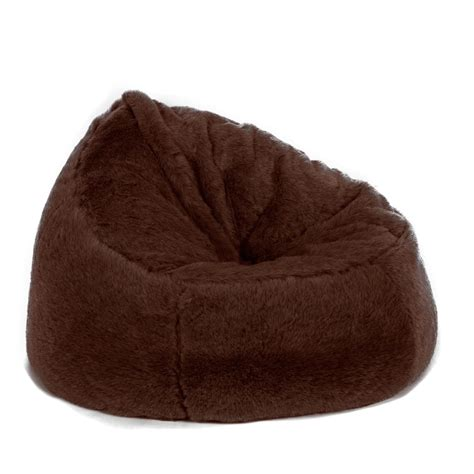 bean bag chaise faux fur bean bag chair
