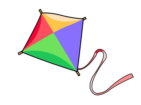 free clipart free kite clip