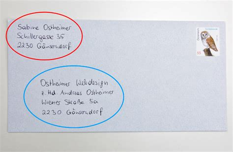 Brief In Schweiz Frankieren richtig adressieren und beschriften f 252 r die 246 sterreichische post meinhaushalt at