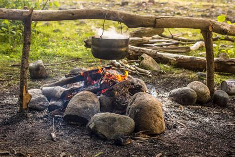 How To Start A Cfire And Build A Fire Pit On Your Next How To Start A In A Firepit