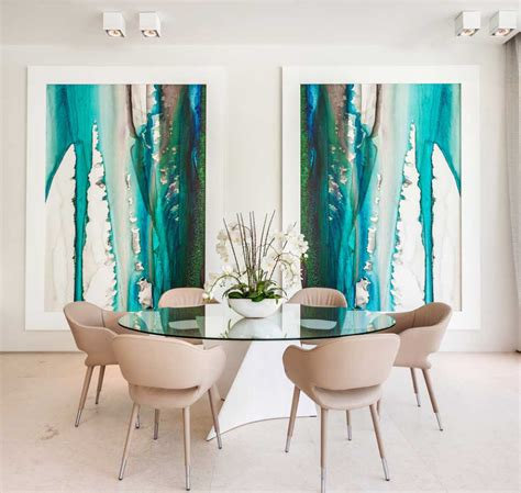 contemporary painting ideas dining room wall art marceladick best free home
