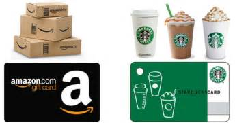 Starbucks Discount Gift Cards - score discounted amazon and starbucks gift cards hip2save