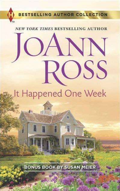 Novel Susan Meier Harlequin it happened one week harlequin bestselling author series
